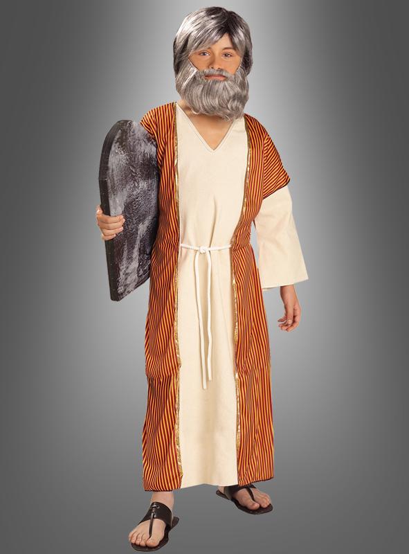 Kinderkostüm Moses und die 10 Gebote