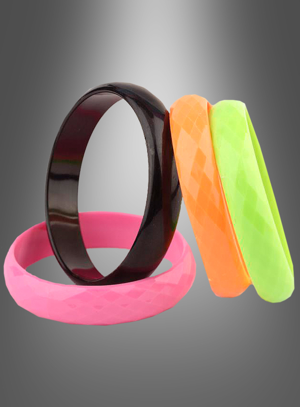 Bracelets 80s Set of 4