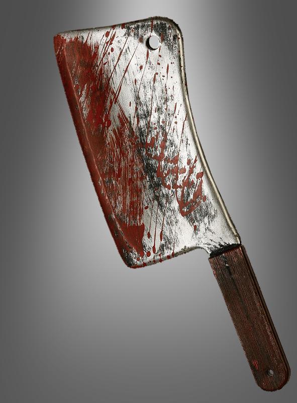 Blutiges Hackebeil