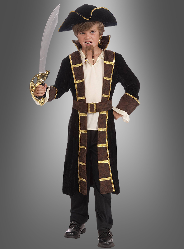 Designer Pirat Kinderkostüm