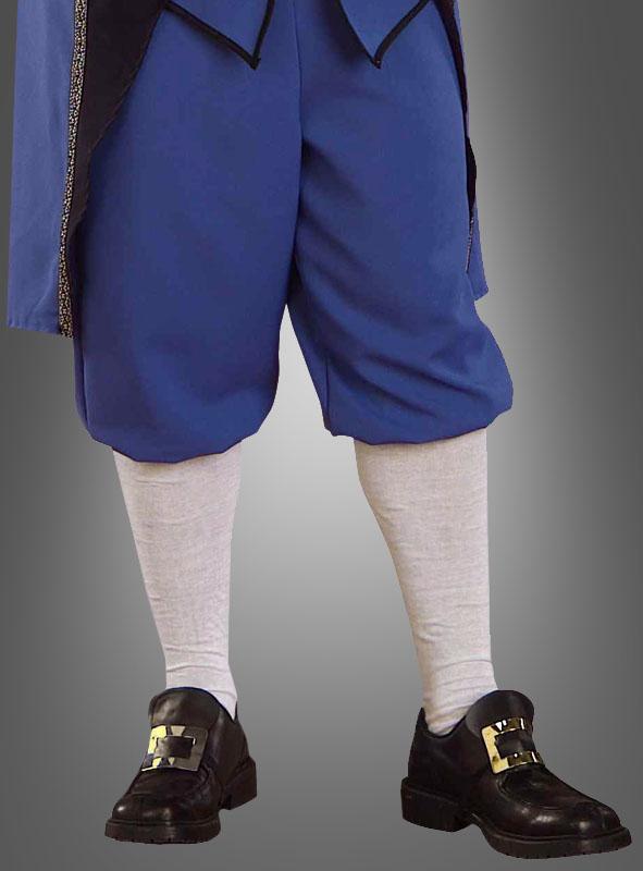 Colonial Knee Socks white