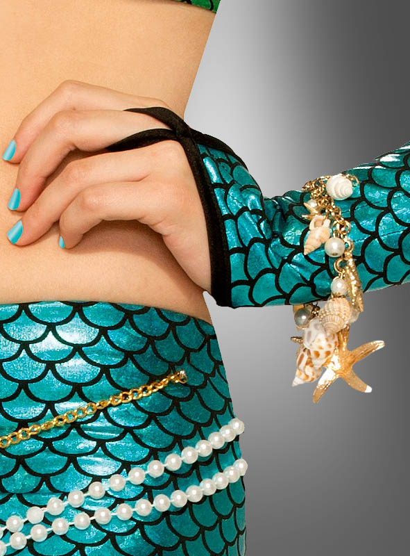 Mermaid Bracelet with Shells
