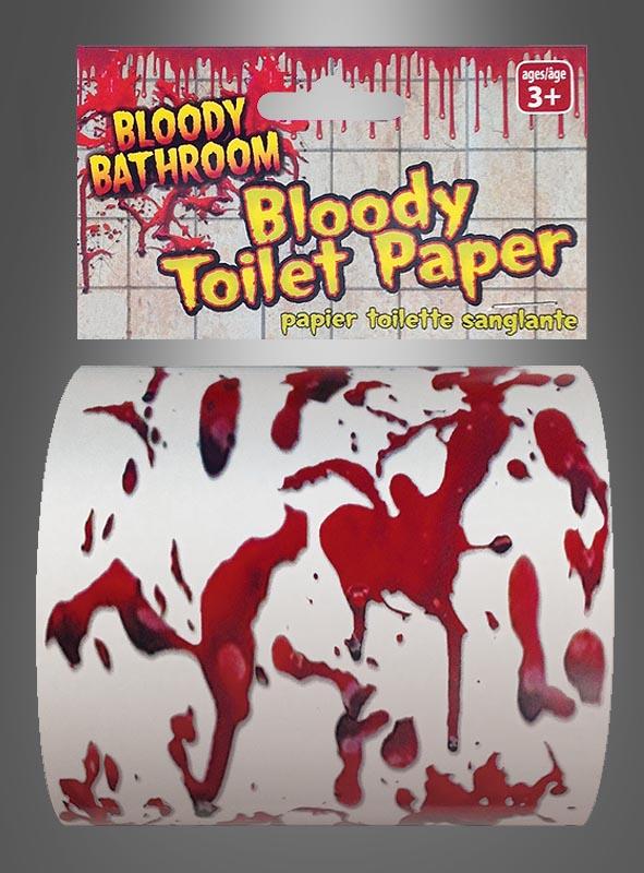 Blutiges Toilettenpapier