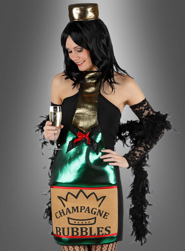 Champagne Bottle Costume