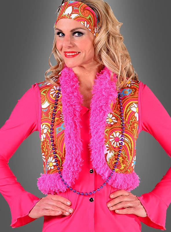 Hippie Vest Martina with Plush