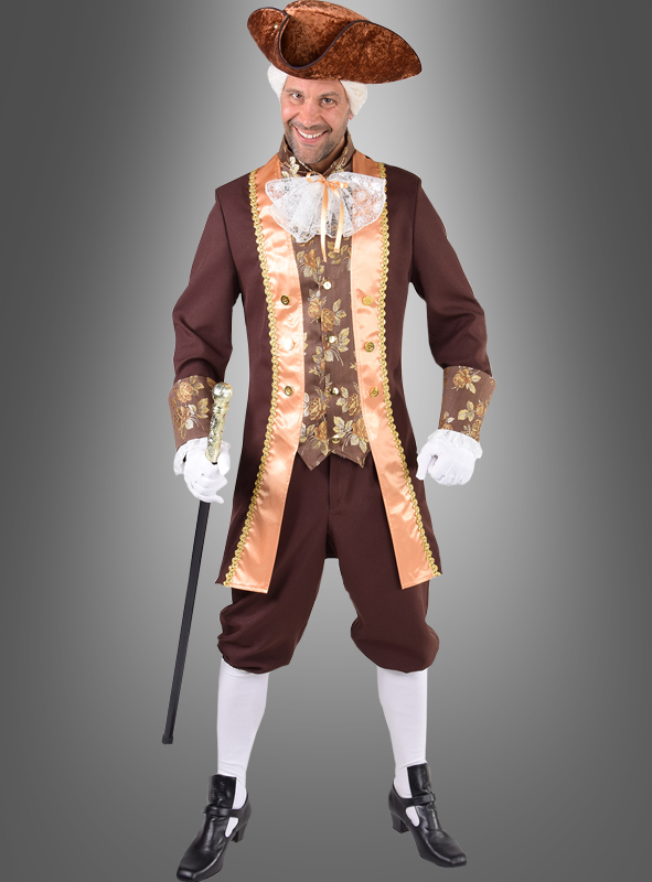 Baron Kostüm für Herren braun