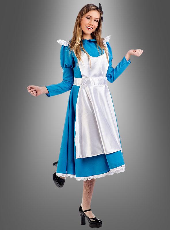 Blaues Alice Kleid für Damen