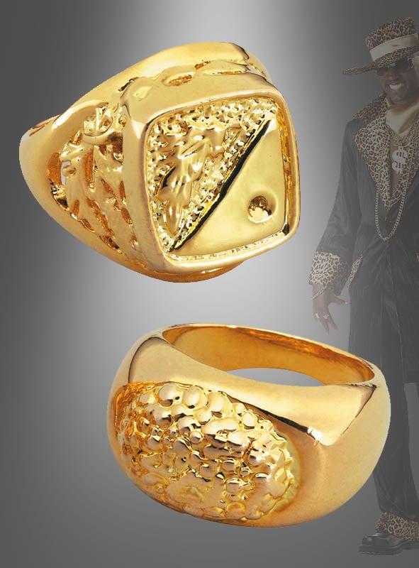 Goldener Ring für Machos und Millionäre