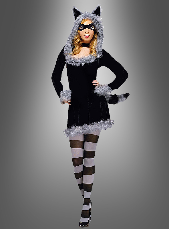 Sexy Racoon Costume