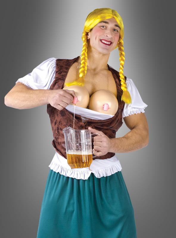 Miss Oktoberbrust Dirndl Männerkostüm
