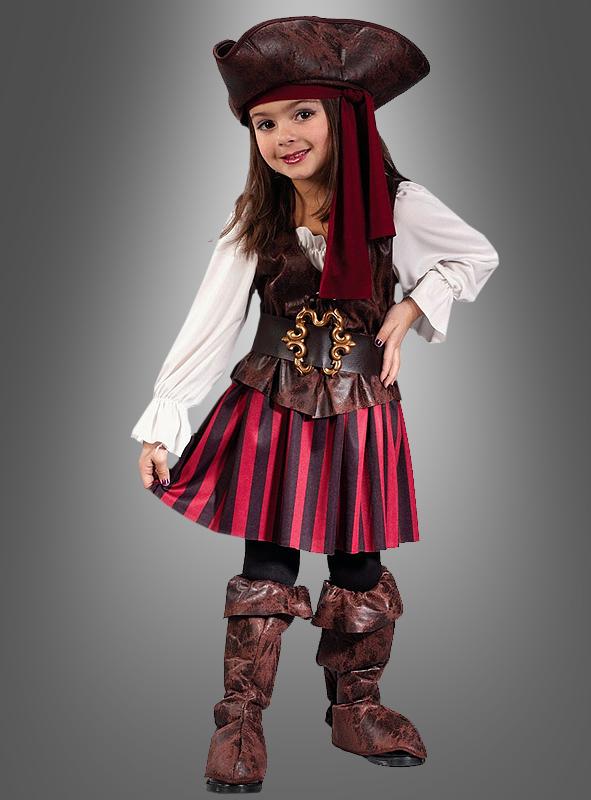 Piratin auf hoher See Kinderkostüm