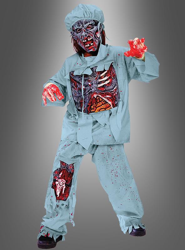 Zombie Doktor Kinderkostüm