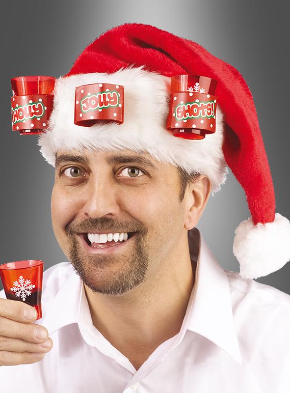 Santa Shots hat