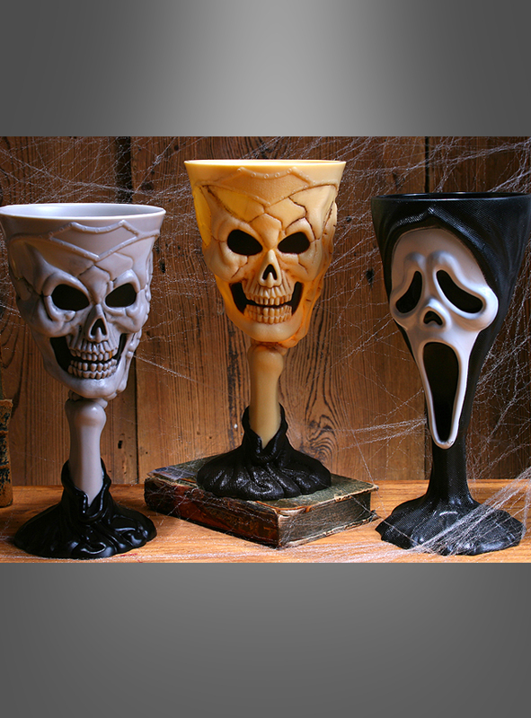 Halloween drinking goblets