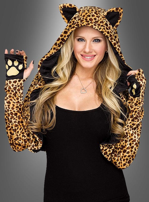 Cheetah Bolero for Women
