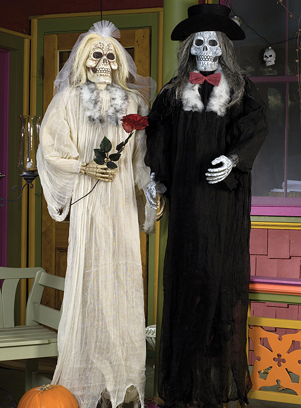 Hängedeko Braut oder Bräutigam 180 cm