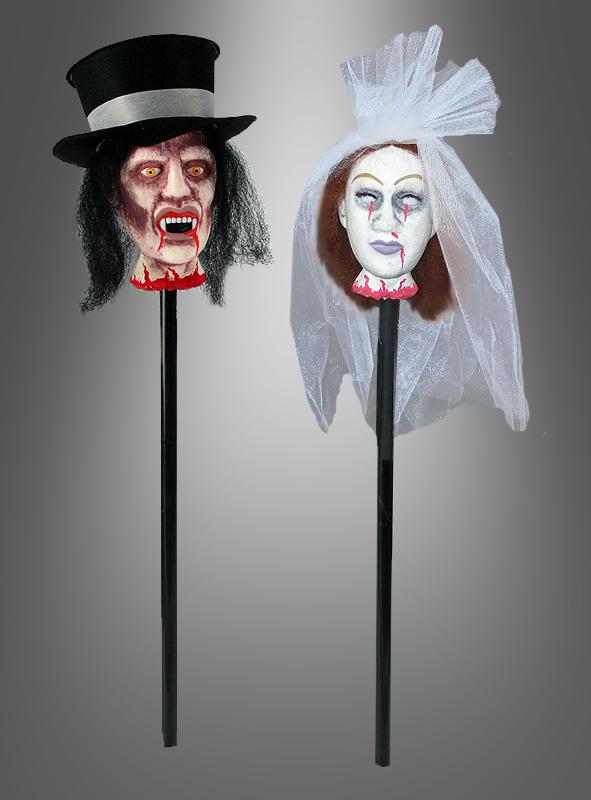 Bride or Groom Head on Stake