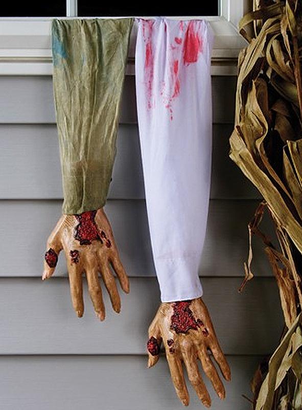 Blutiger Arm Halloweendeko