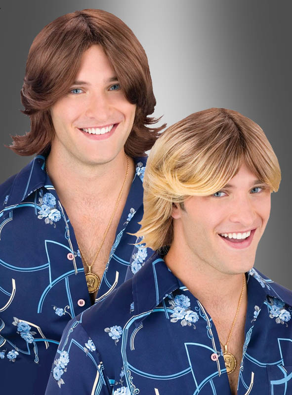 Ladies man wig blonde or brown