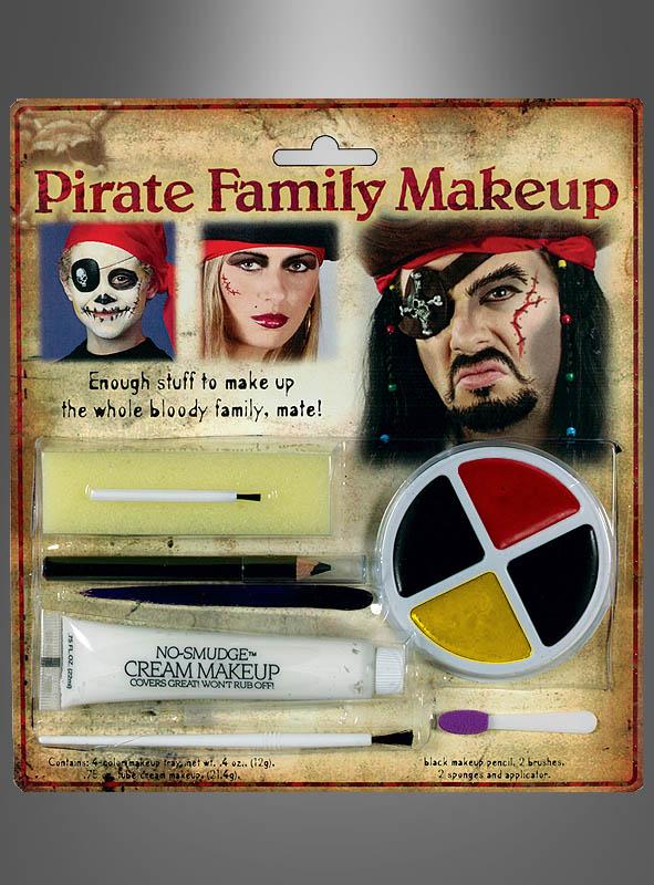 Piraten Schminke Set