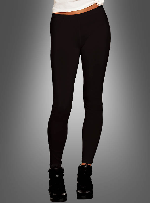 Schwarze Leggings für Damen