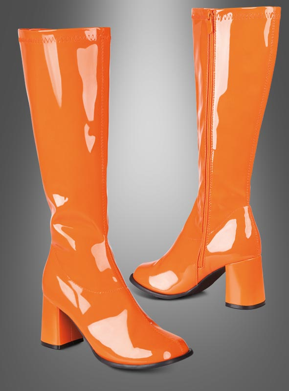 Retro Stiefel orange