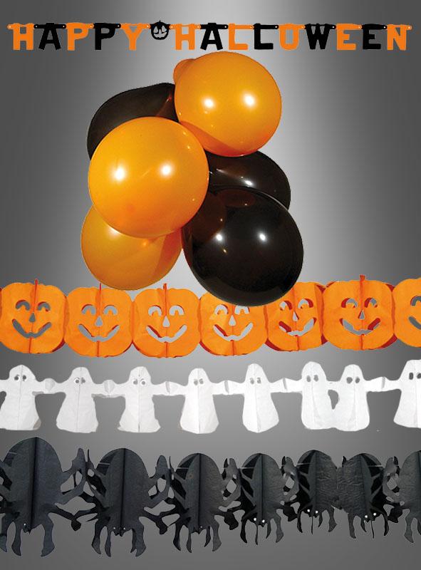 Halloween Party Deko Set 14 teilig