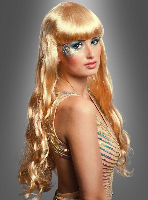 Mermaid Wig blonde