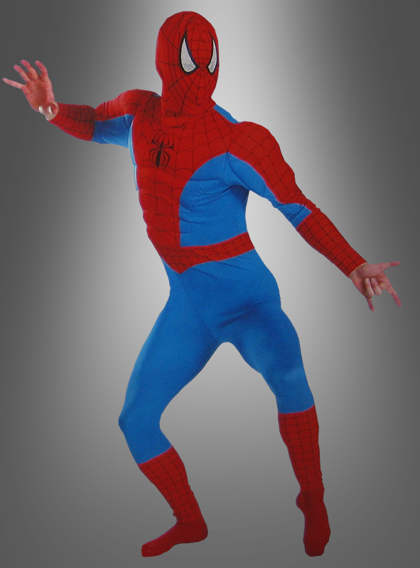 Muscle Chest Spiderman costume