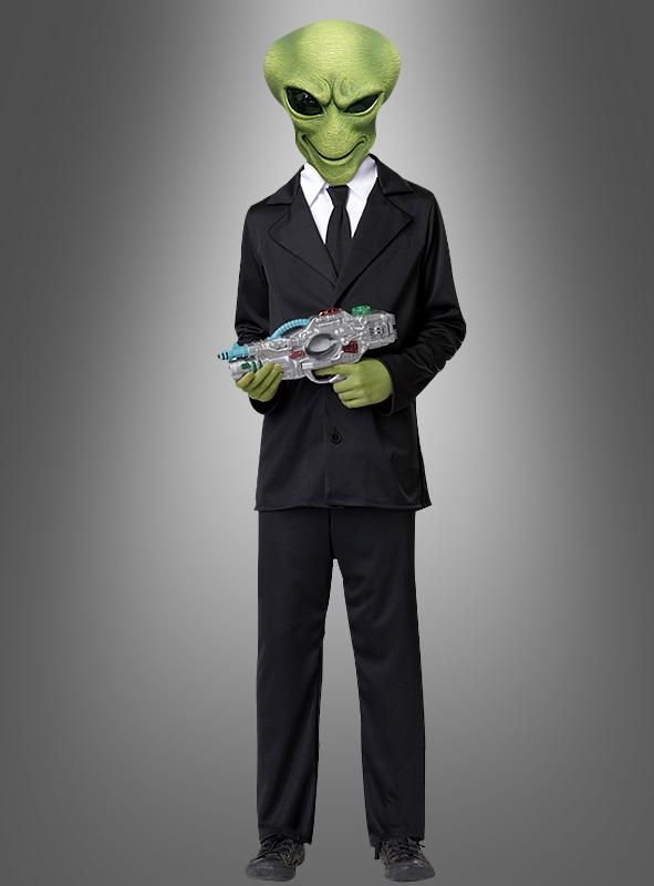 Child Alien Agent costume