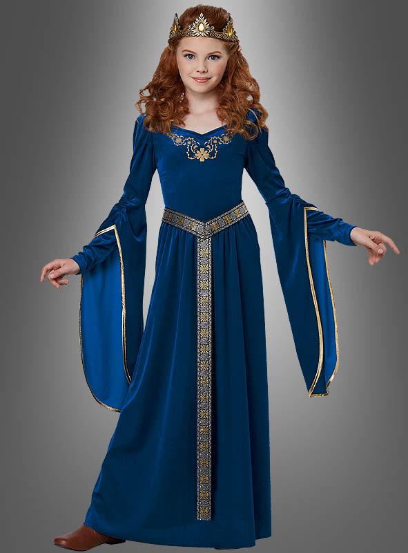 Mittelalter Kinderkostüm Bluebird