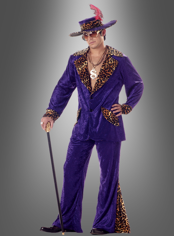 Pimp Costume Purple Louis