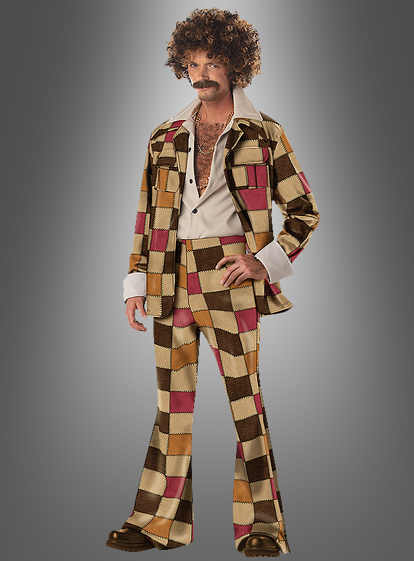 Disco Sleazeball Men 70s Costume