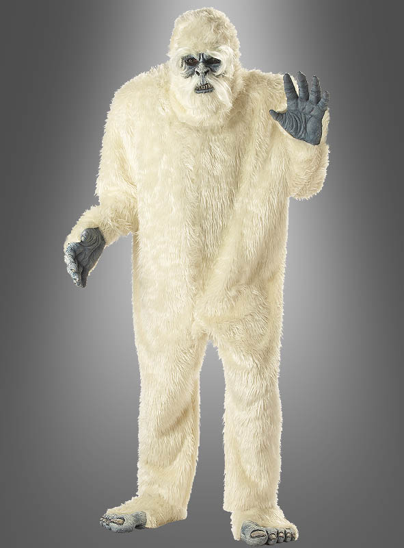Abominable Snowman Costume for Adults