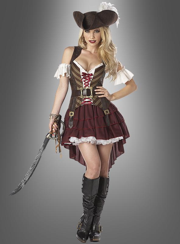 Sexy Seeräuberin Kostüm