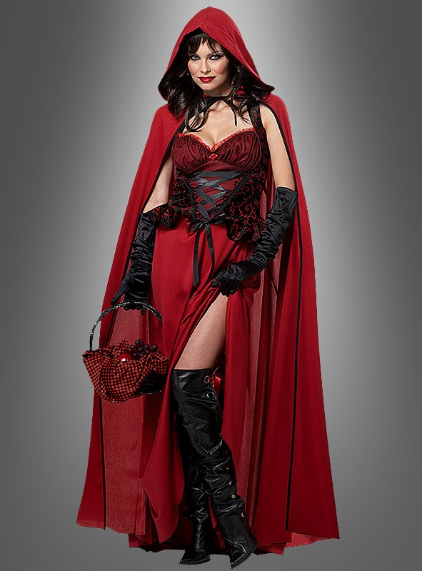 Dark Red Riding Hood Costume