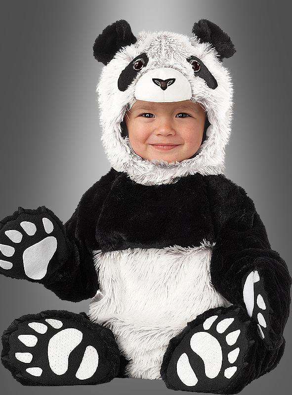 Deluxe Pandakostüm Baby