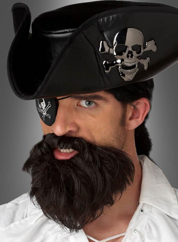 Vollbart selbstklebend für Piraten