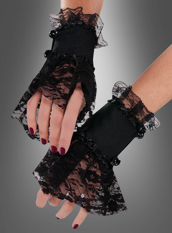 Adults Gothic Lace Cuffs
