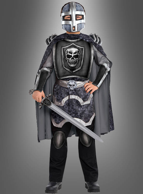 Knight Skull Armour Childrens Costume