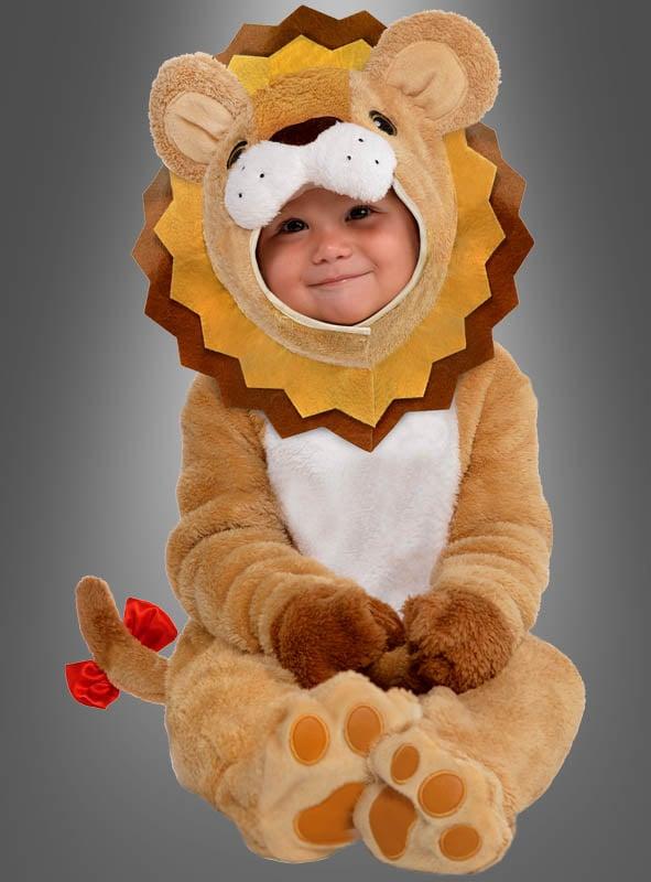 Plüsch Kostüm Löwe für Kinder