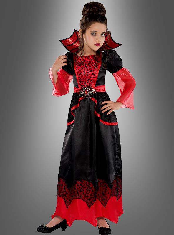 Vampirgräfin Kostüm für Mädchen