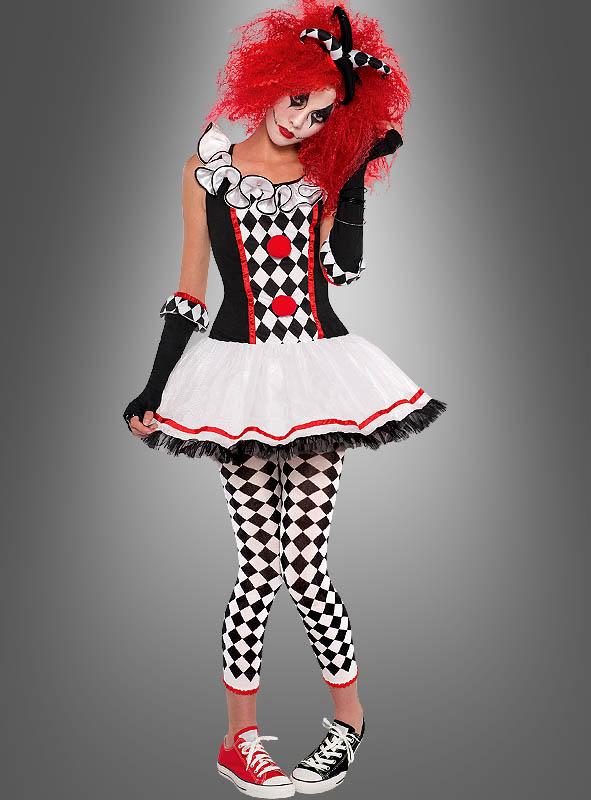 Harlekin Clownfrau
