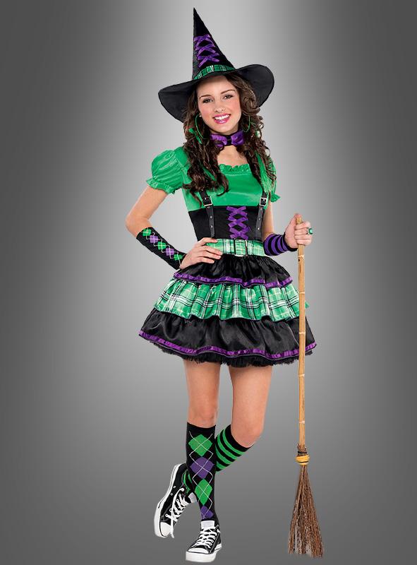 Coole Hexe Kostüm Teen