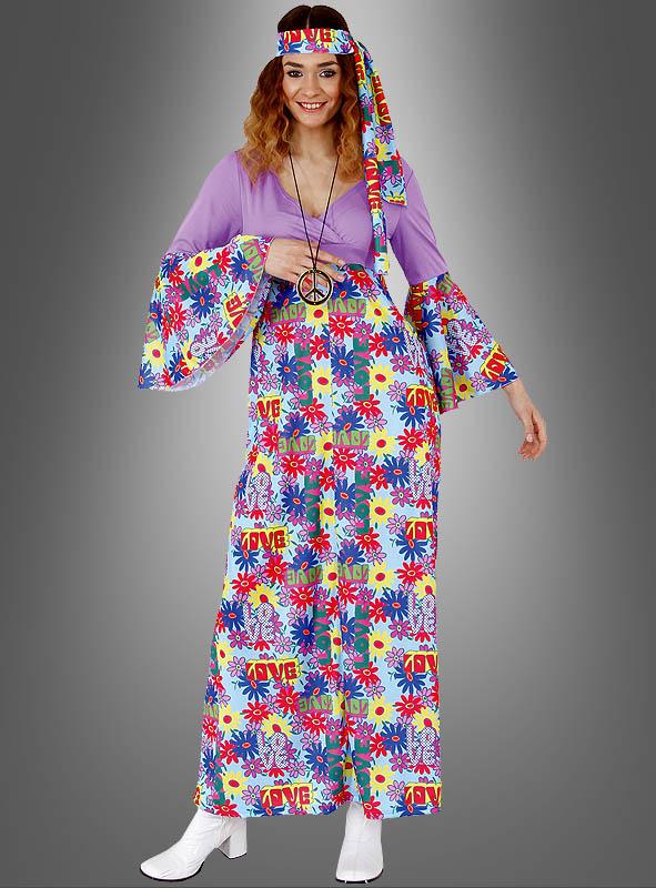 Hippie kleid mit stulpen