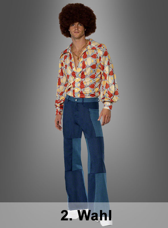Retro Shirt and patch Trousers 2. Rate