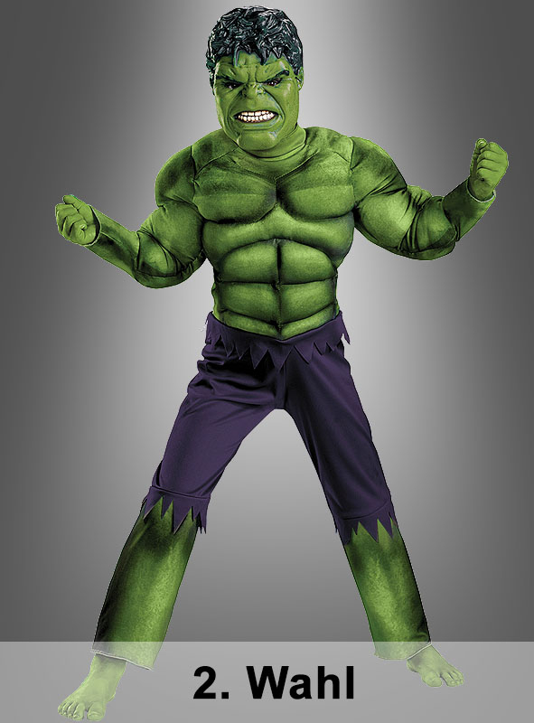 2. Rate Hulk Muscle Chest Costume Children