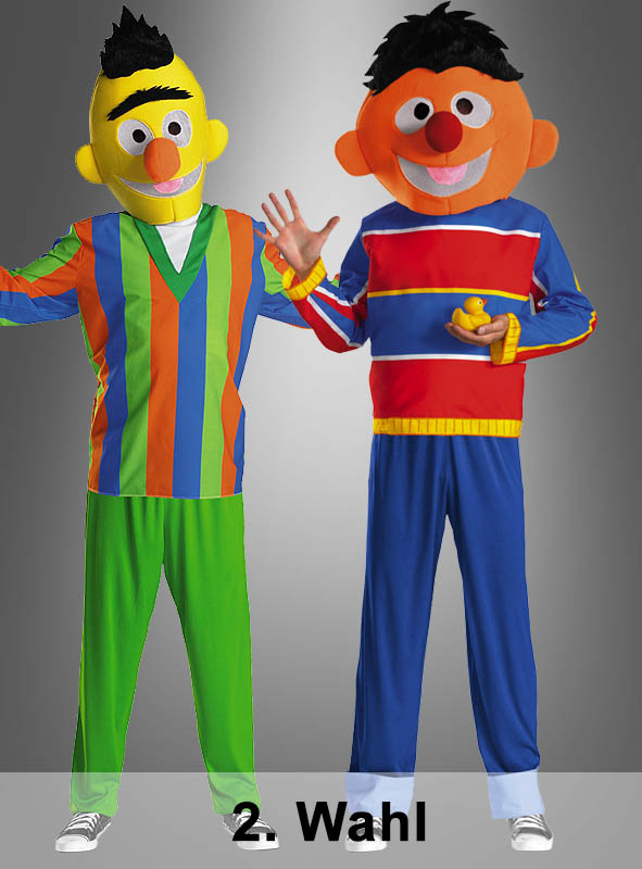2. Rate Ernie or Bert Adult costume