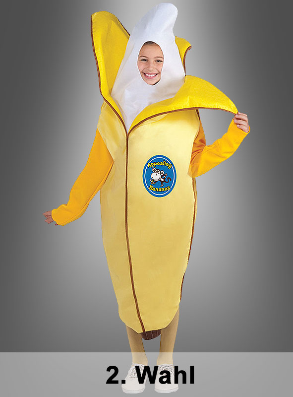 2nd Quality Appealing Banana child costume