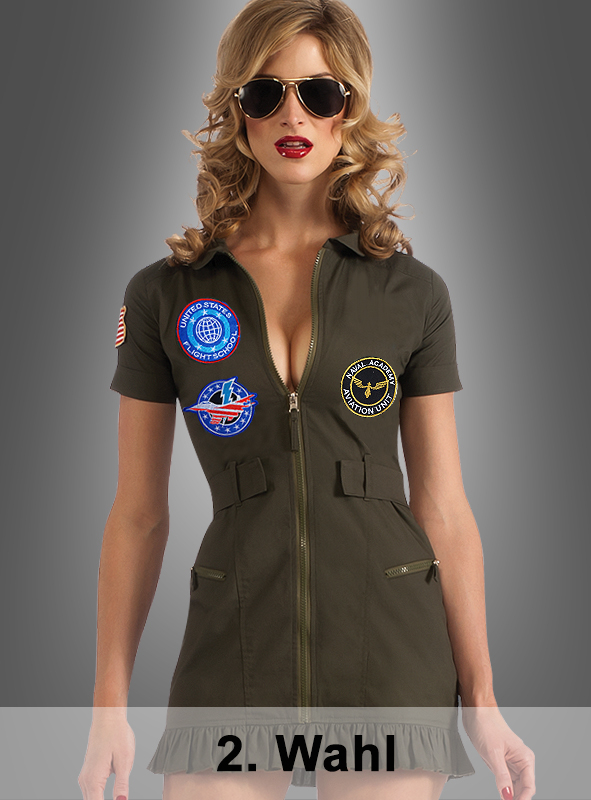 2. Quality Top Gun Dress
